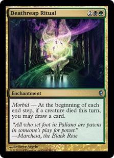 Deathreap Ritual Magic Card