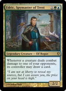 Edric, Spymaster of Trest Magic Card