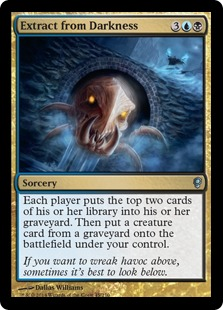 Extract from Darkness Magic Card