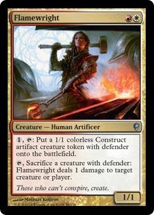 Flamewright Magic Card
