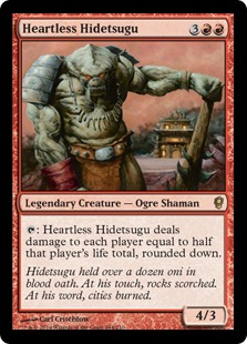 Heartless Hidetsugu Magic Card