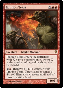 Ignition Team Magic Card