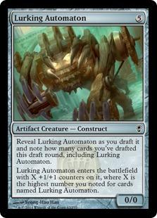 Lurking Automaton Magic Card