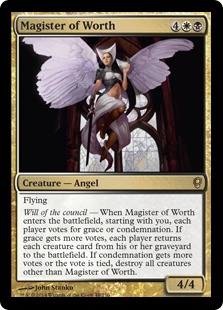 Magister of Worth Magic Card