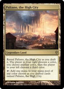 Paliano, the High City Magic Card
