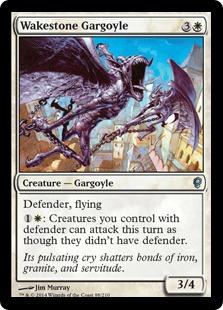 Wakestone Gargoyle Magic Card