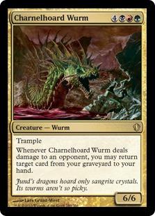 Charnelhoard Wurm Magic Card