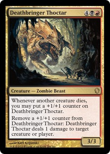 Deathbringer Thoctar Magic Card