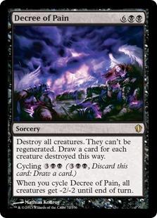 Decree of Pain Magic Card
