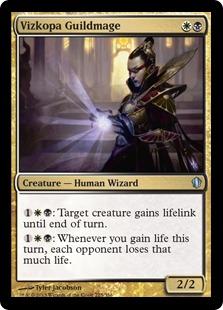 Vizkopa Guildmage Magic Card