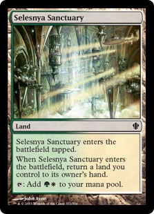 Selesnya Sanctuary Magic Card