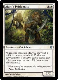 Ajani's Pridemate Magic Card
