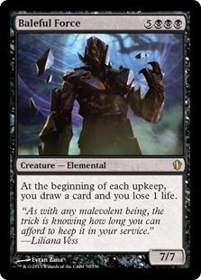 Baleful Force Magic Card