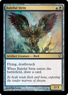 Baleful Strix Magic Card