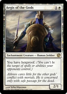 Aegis of the Gods Magic Card