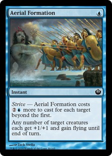 Aerial Formation Magic Card