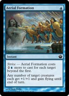 Aerial Formation Magic Card
