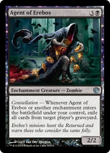 Agent of Erebos Magic Card