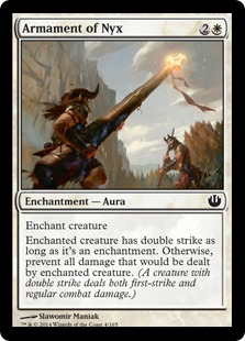 Armament of Nyx Magic Card