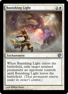 Banishing Light Magic Card