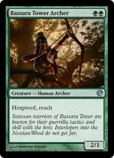 Bassara Tower Archer Magic Card