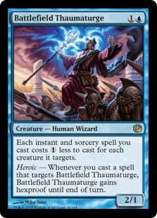 Battlefield Thaumaturge Magic Card
