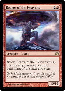 Bearer of the Heavens Magic Card