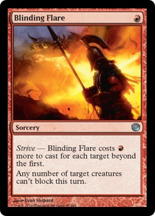 Blinding Flare Magic Card