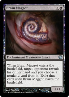 Brain Maggot Magic Card