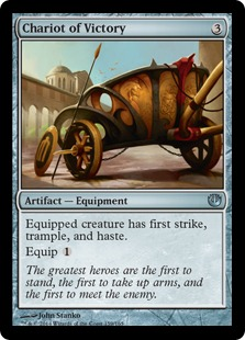 Chariot of Victory Magic Card