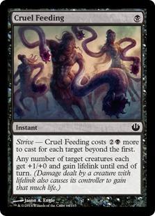 Cruel Feeding Magic Card