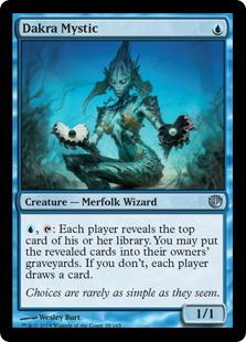 Dakra Mystic Magic Card