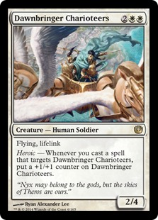 Dawnbringer Charioteers Magic Card