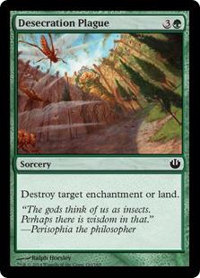 Desecration Plague Magic Card