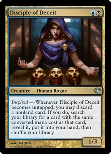 Disciple of Deceit Magic Card