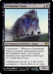 Doomwake Giant Magic Card