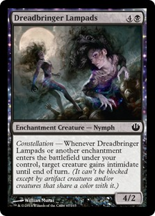 Dreadbringer Lampads Magic Card