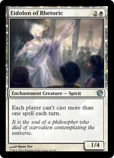 Eidolon of Rhetoric Magic Card