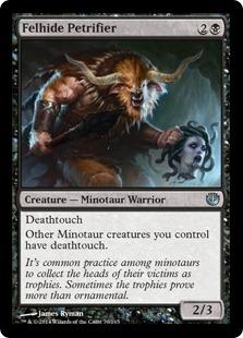 Felhide Petrifier Magic Card