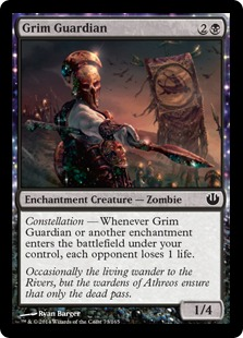 Grim Guardian Magic Card