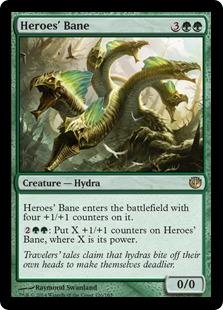 Heroes' Bane Magic Card