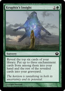 Kruphix's Insight Magic Card