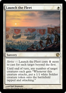 Launch the Fleet Magic Card