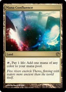 Mana Confluence Magic Card