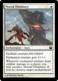 Mortal Obstinacy Magic Card
