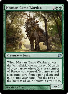Nessian Game Warden Magic Card