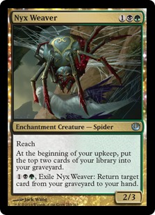Nyx Weaver Magic Card