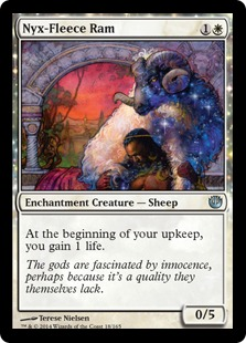 Nyx-Fleece Ram Magic Card