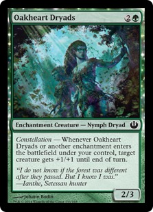Oakheart Dryads Magic Card