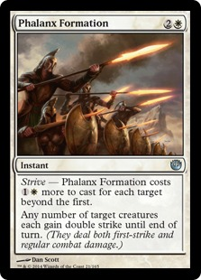Phalanx Formation Magic Card
